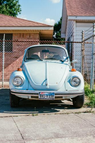 Baby Blue Beetle