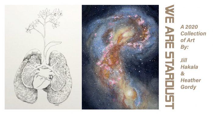 artwork of Jill Hakala and Heather Gordy
